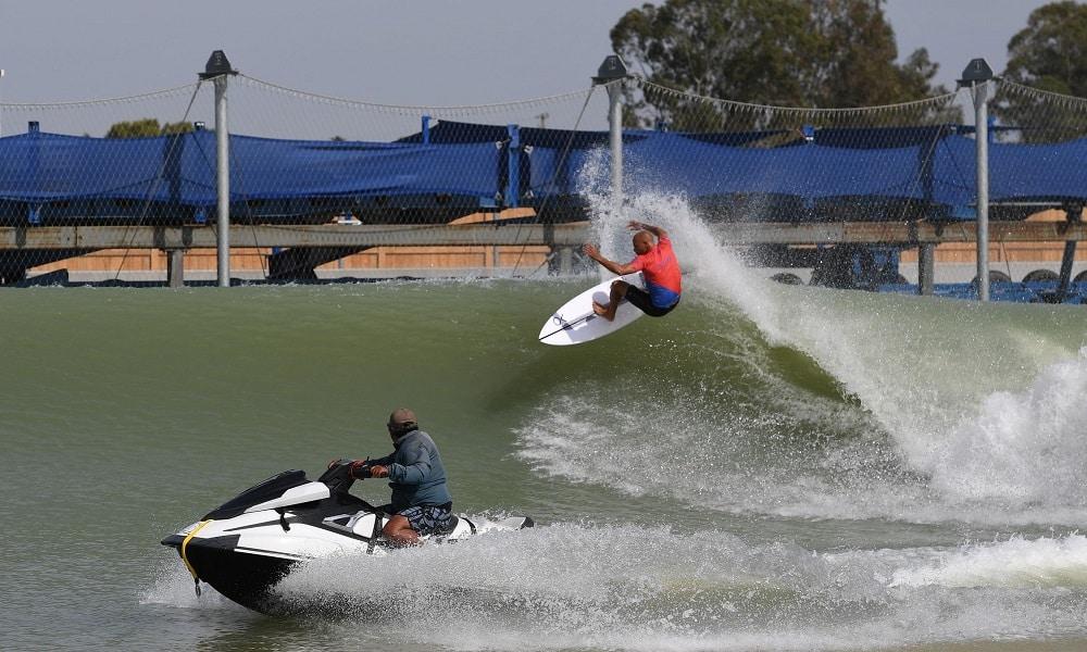Kelly Slater surfe  Surf Ranch Pro Deivid Silva