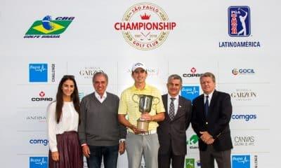Rafa Becker fica em 9º no São Paulo Golf Club Championship
