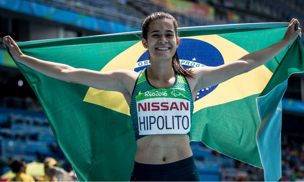 Verônia Hipólito, do atletismo paralímpico