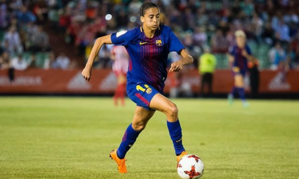 Com Andressa Alves, Barcelona vence mais uma no Espanhol