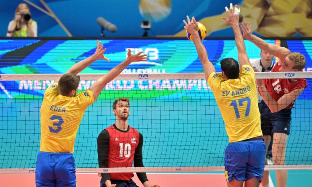 f9f6fb6c62 ASSISTA AO VIVO  Brasil x Estados Unidos - Mundial de vôlei masculino