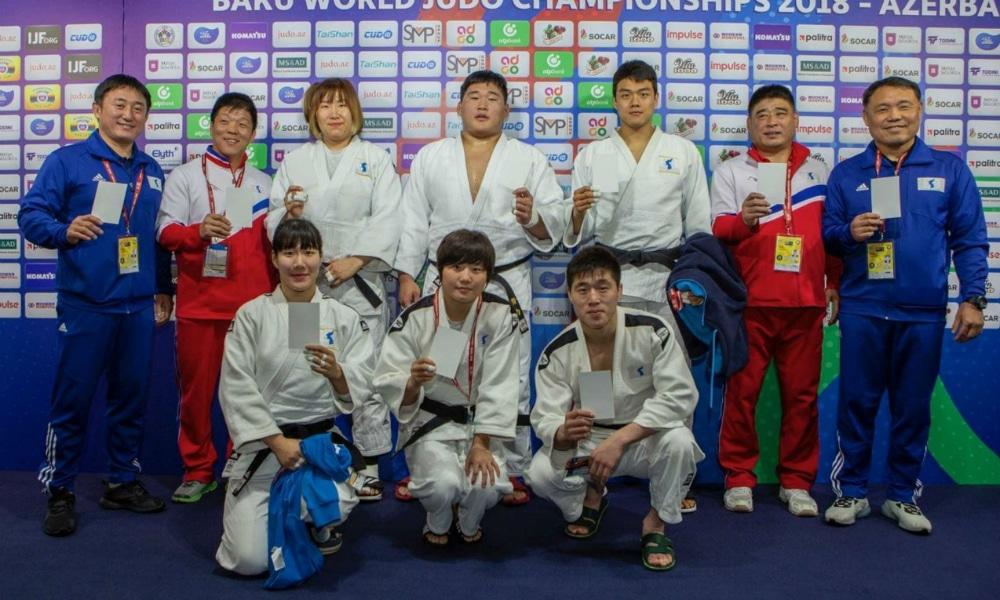 igualdade de gênero judô seleção coreia unida