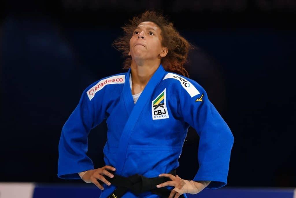 Rafaela Silva está fora da Olimpíada de Tóquio (Roberto Castro/rededoesporte.gov.br)