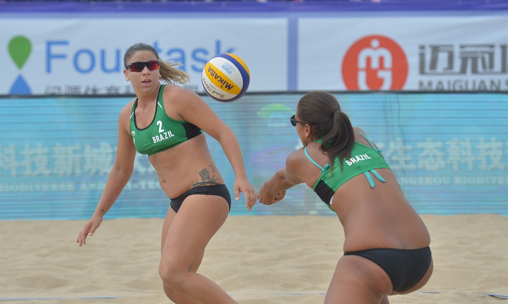 Ana Patrícia e Rebecca estão na final da etapa de Yangzhou