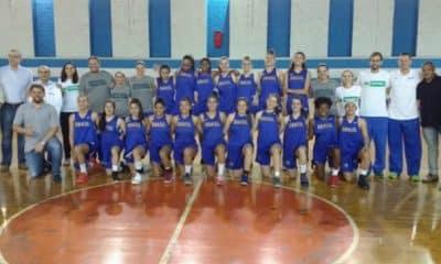 Seleção Sub-15 feminina se apresenta e já treina em Americana