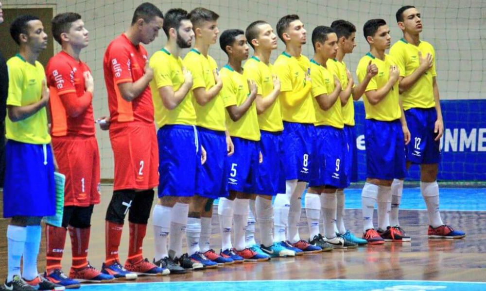 ad77464661 Brasil nos Jogos Olímpicos da Juventude - Futsal - Olimpíada Todo Dia