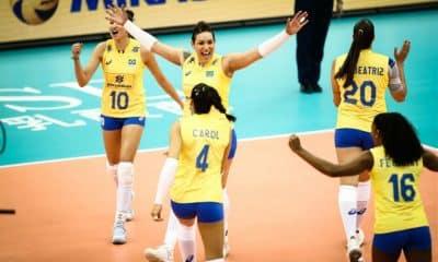 Brasil x Canadá - Liga das Nações de vôlei feminino