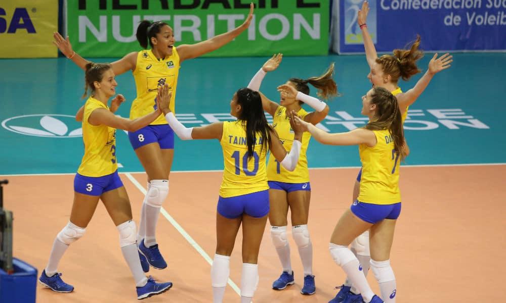 Brasil estreia com vitória no Sul-Americano Sub-20 feminino de vôlei 56ebb2fe75771