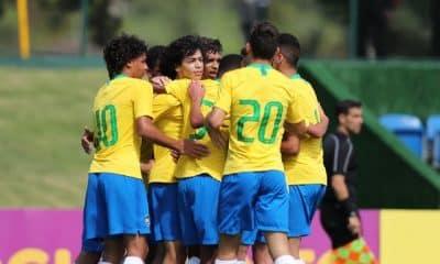 Em novo amistoso, Seleção Sub-15 goleia Chile por 6 a 1