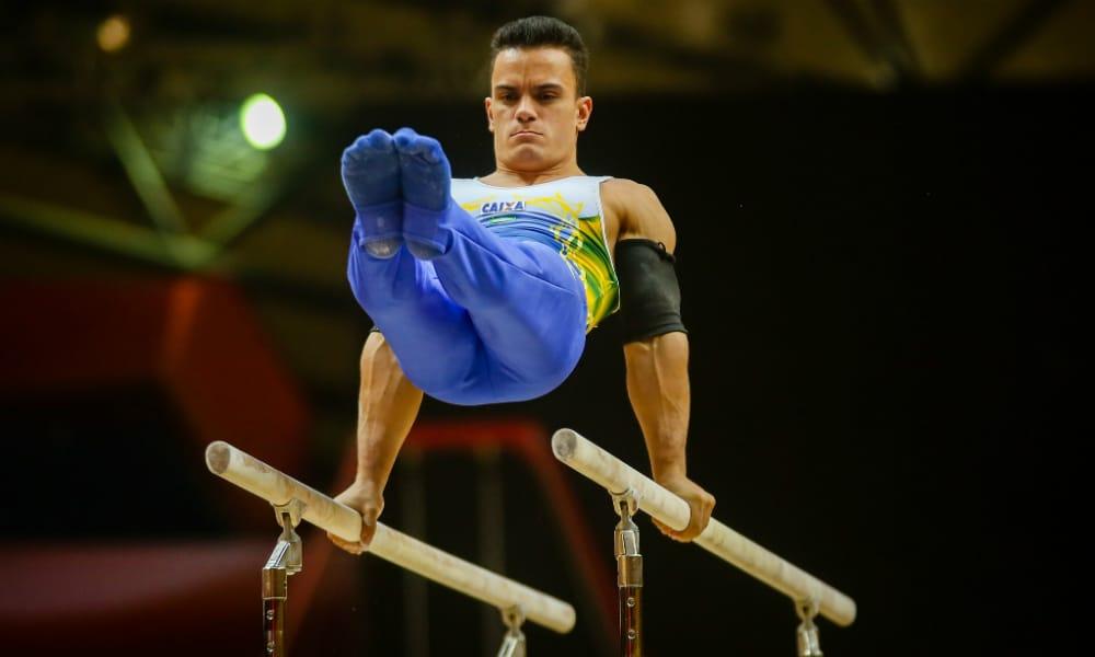 Caio Souza barras paralelas jogos olímpicos tóquio 2020