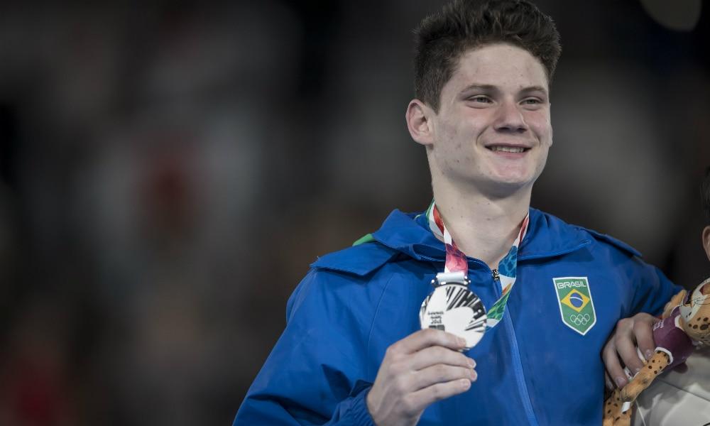 Diogo Soares nos Jogos Olímpicos da Juventude
