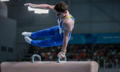 Diogo Soares cavalo com alças Jogos Olímpicos da Juventude