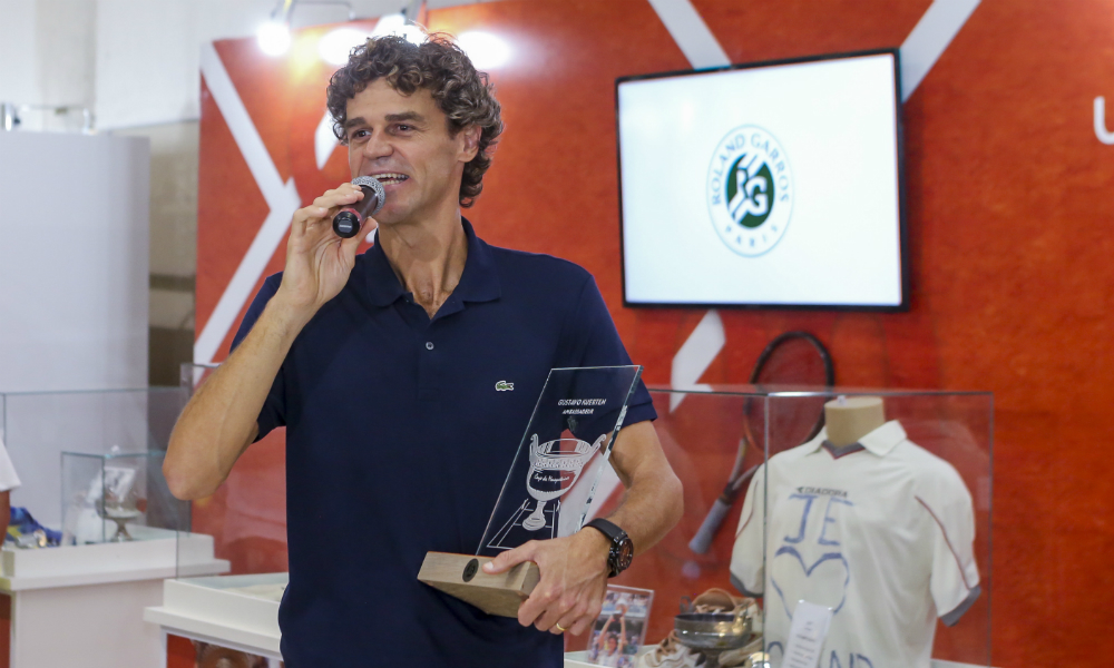 Semana Guga Kuerten - Homenagem - Roland Garros - Tênis