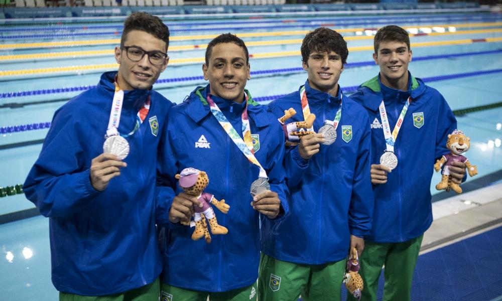 Murilo Sartori 4x200m revezamento 200m livre Jogos Olímpicos de Tóquio