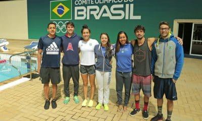 Natação e saltos ornamentais na disputa dos Jogos da Juventude
