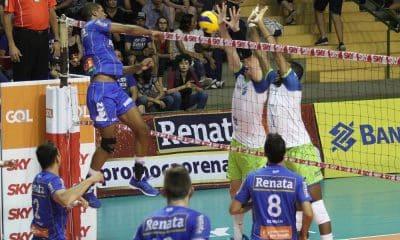 Vôlei Renata vence o São Judas Voleibol e segue invicto