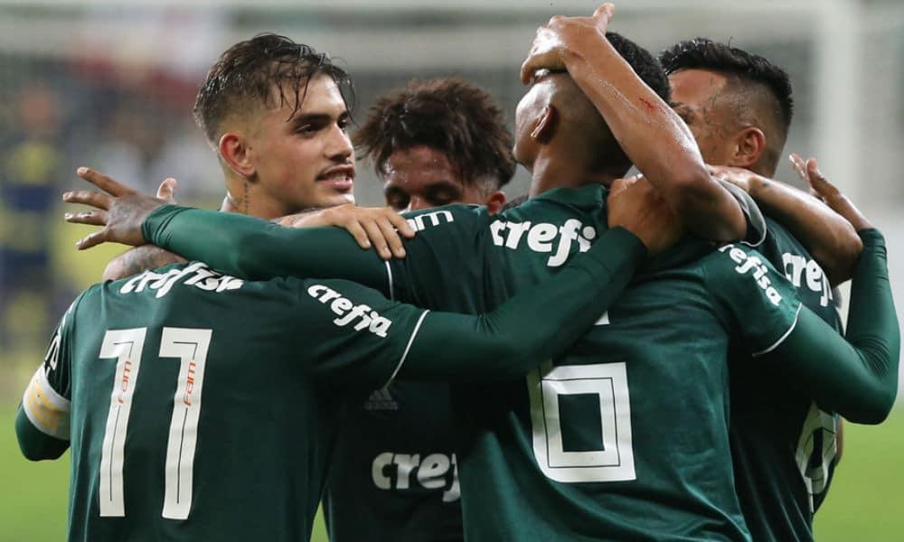 Divulgação Palmeiras. Pelo segundo jogo da final do Campeonato Brasileiro  Sub-20 ... eb23750f5eff6