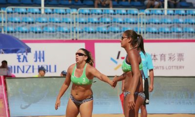 Ana Patrícia e Rebecca vencem etapa chinesa de Qinzhou