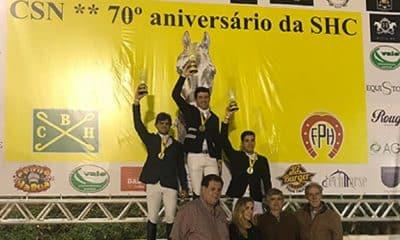 Sergio Marins vence Clássico e Lucio Osório a Copa Ouro