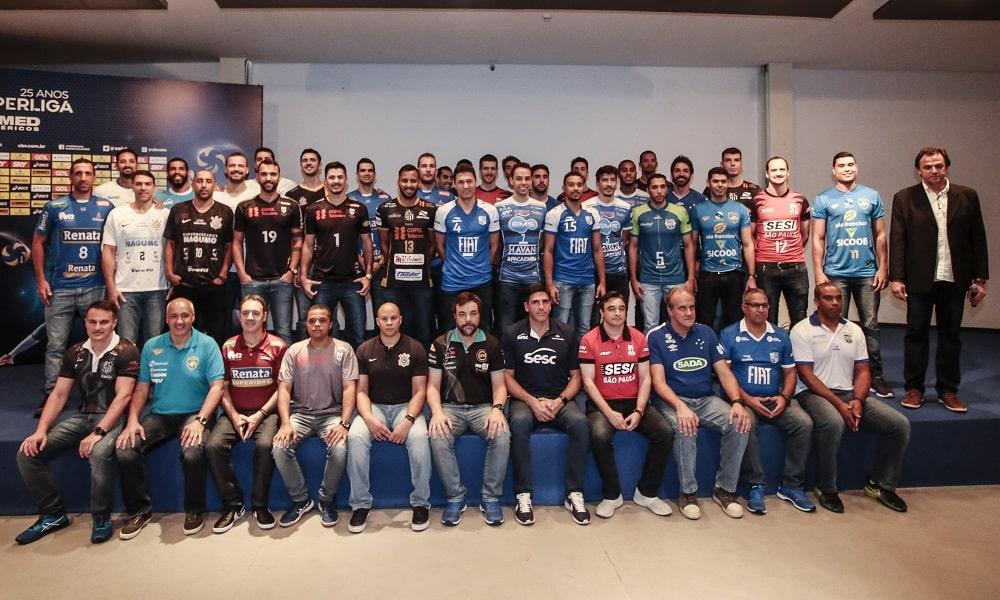Lançamento da Superliga reúne representantes dos clubes em São Paulo