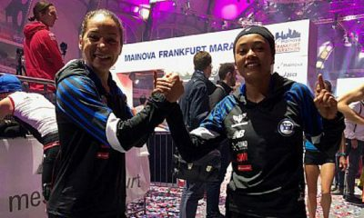 Valdilene dos Santos Silva - Andreia Aparecida Hessel - Maratona - Frankfurt