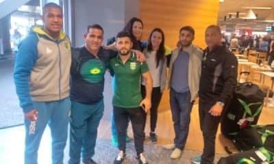 Delegação brasileira já treina na Hungria para Mundial 2018