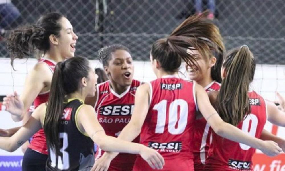AO VIVO  Bauru x Pinheiros pela semifinal do Paulista de vôlei feminino 0868305795255