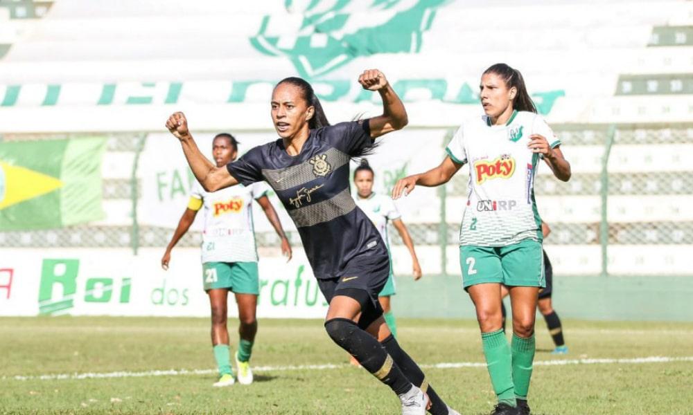 Corinthians sai na frente do Rio Preto na final do Brasileirão feminino 16e2e16761aa1