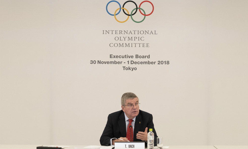 Thomas Bach Presidente do COI