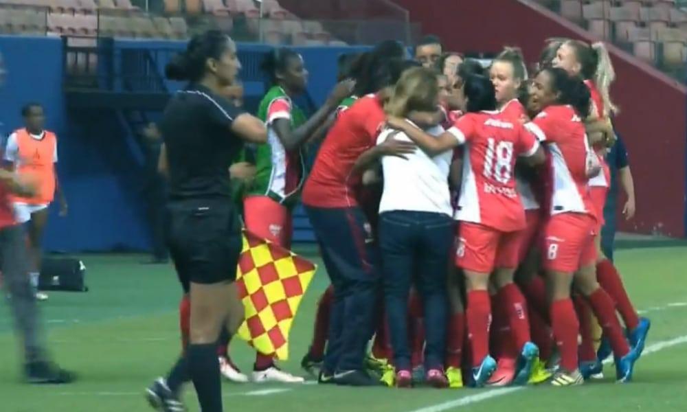 b838bacf14 Audax vence e embola a disputa do grupo na Libertadores Feminina