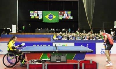 Catia Oliveira - Hugo Calderano - Tênis de Mesa - Campeonato Brasileiro