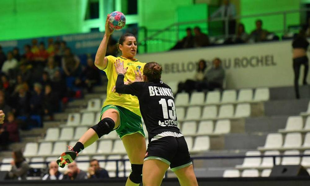 Seleção feminina vence a Alemanha em torneio amistoso de Handebol 05284b7e85713