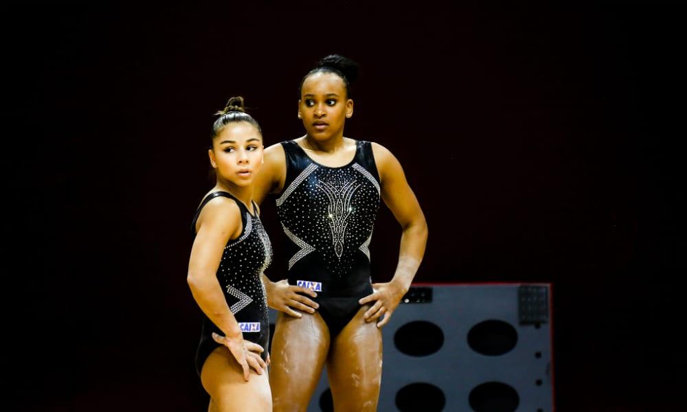 Flávia Saraiva e Rebeca Andrade solo feminino jogos olímpicos tóquio 2020