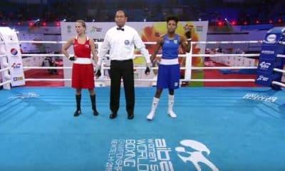 Jucielen Romeu avança às quartas de final no Mundial de boxe