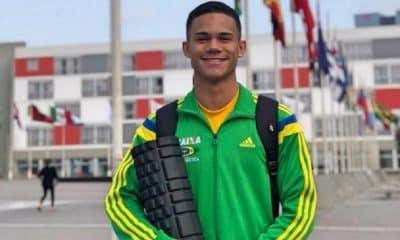 Lucas Tobias conquista a prata no Campeonato Mundial por idades