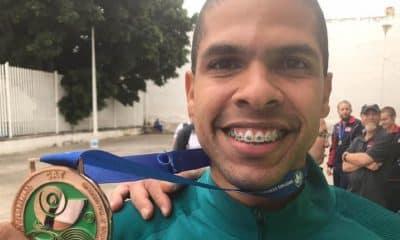Philipe Chateaubrian é bronze na Pistola de Ar 10m Masculino