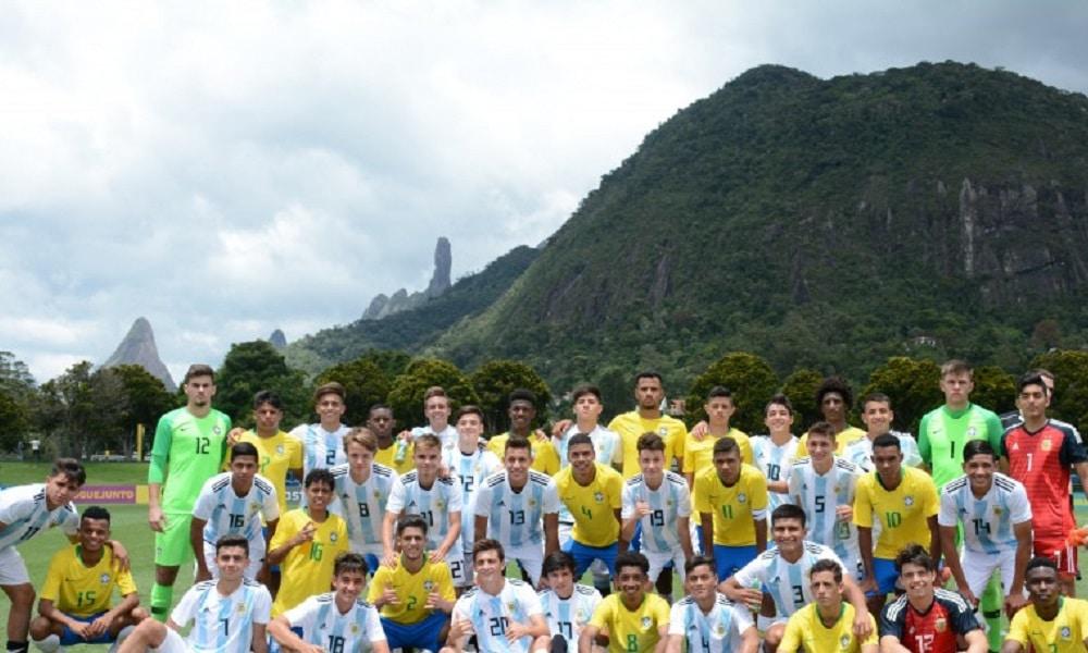 Seleção Sub-17 é superada pela Argentina em amistoso