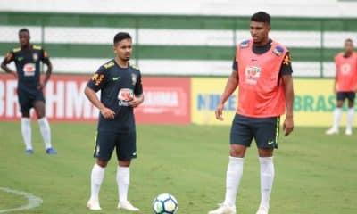 Seleção Sub-20 segue preparação para amistoso contra Colômbia