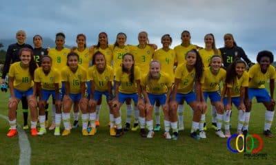 Brasil x Japão - Copa do Mundo feminina Sub-17