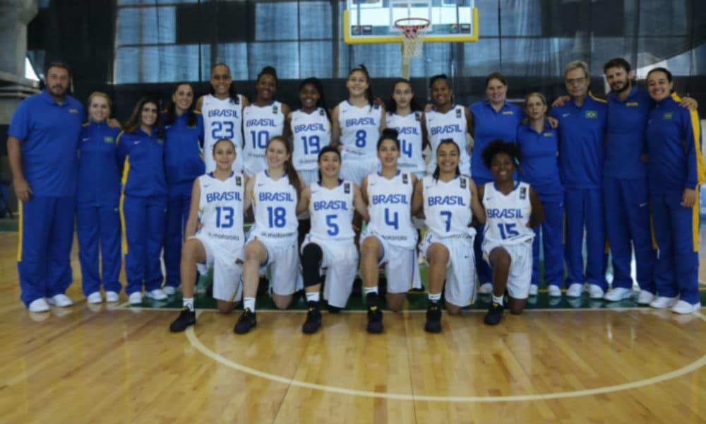 168aeaf804f82 Brasil vai disputar o 3° lugar no Sul-Americano Sub-15 de basquete feminino