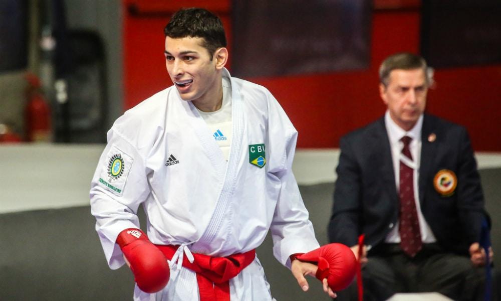 Vinicius Figueira - Kumite - Caratê - Campeonato Mundial - Madri