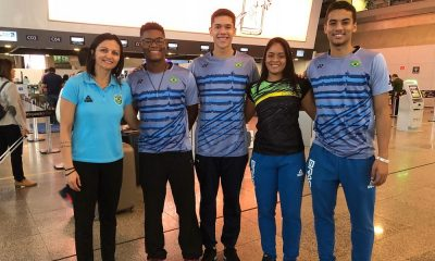 Brasil vai ao Campeonato Mundial Júnior em busca do Top 15