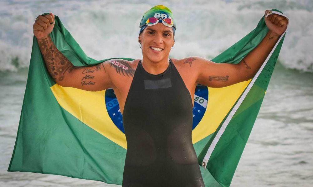 Ana Marcela Cunha se classificou para a Olimpíada de Tóquio com quinto lugar no Mundial