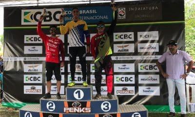 Renato Rezende e Priscilla Stevaux garantem pódio na Copa Brasil