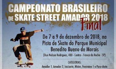 Franco da Rocha receberá Brasileiro de skate street amador