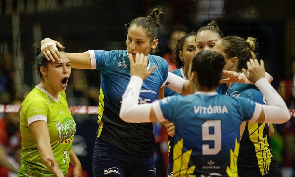 Minas Tênis Clube x Sesc RJ - Superliga feminina 2018/19