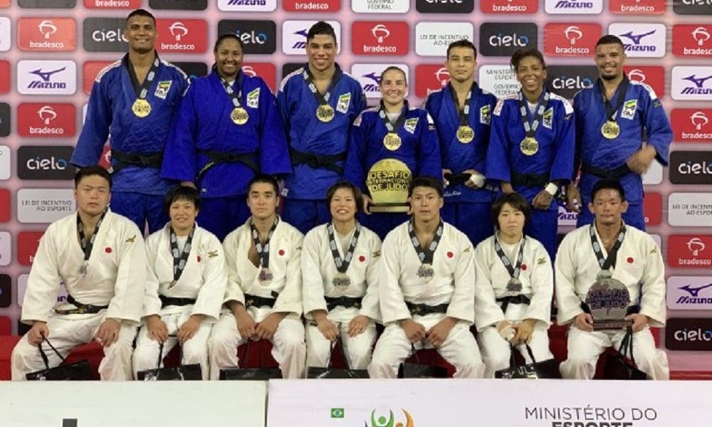 3efd846ce1 Brasil bate Japão pelo Desafio Internacional de judô - Olimpíada Todo Dia