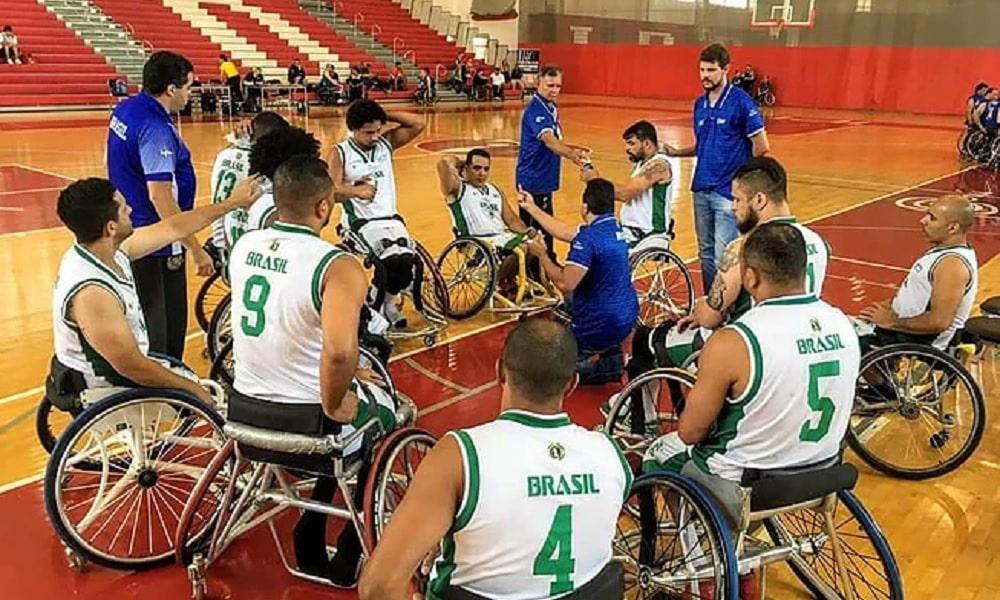ebfa47a1b Brasil vice no Sul-Americano de basquete em cadeira de rodas - Olimpíada  Todo Dia