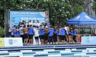 Corinthians é campeão brasileiro júnior de natação