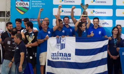 Minas Tênis Clube é campeão do Torneio Open de natação 2018
